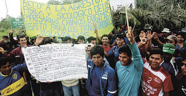 Algunos trabajadores han realizado protestas en demanda de mejores tratos