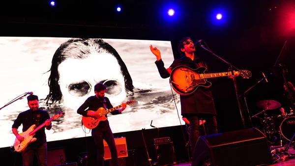Otro foco. Lucio Mantel fue otro de los músicos que reversionaron a García. (Foto: Germán Adrasti)