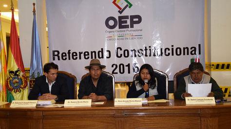 Vocales del Tribunal Electoral Departamental de Cochabamba