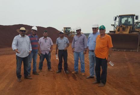ESM exporta hierro a Paraguay