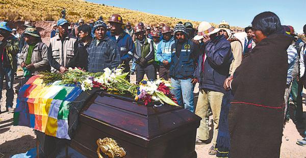 La Fiscalía no muestra avances en la investigación por la muerte de los cooperativistas mineros