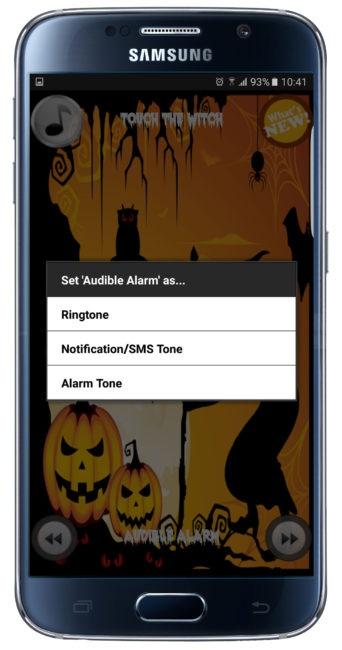 Utilizar tono en 35+ Halloween Ringtones