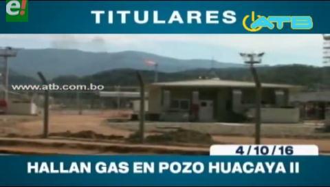 Titulares de TV: Se confirma el hallazgo de gas en Chuquisaca
