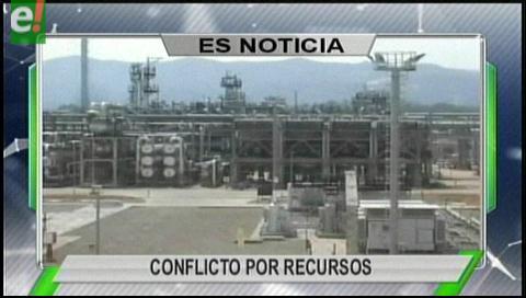 Titulares de TV: Cívicos de Chuquisaca y Tarija enfrentados por las regalías de Huacaya II