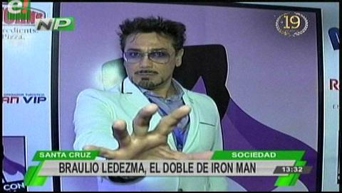 Braulio Ledezma es el Iron Man mexicano