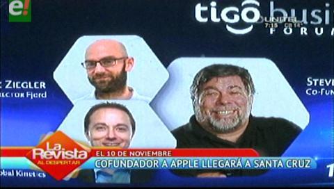 Steve Wozniak cofundador de Apple llegará a Santa Cruz