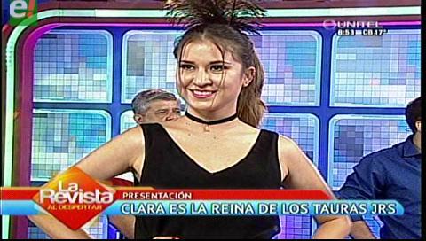 Clara Gil es reina de los Tauras Jrs