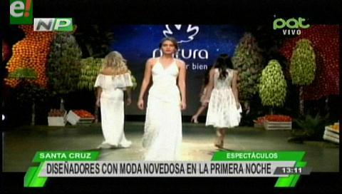 Así inició la fiesta de Bolivia Moda Primavera Verano 2016