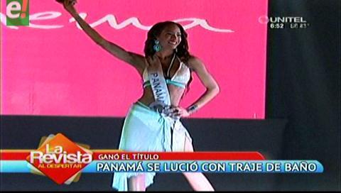 Mejor Silueta es Miss Panamá del Reina Hispanoamericana