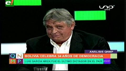 "Jaime Paz a Evo: ""En esta botellita… está tu avión y tus helicópteros"""