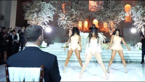 Cuando esta novia se lanza a bailar Beyoncé, nadie puede con ella