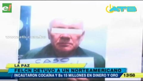 Felcn confisca 21 kilos de cocaína y captura a un estadounidense con oro valuado en Bs 11 millones