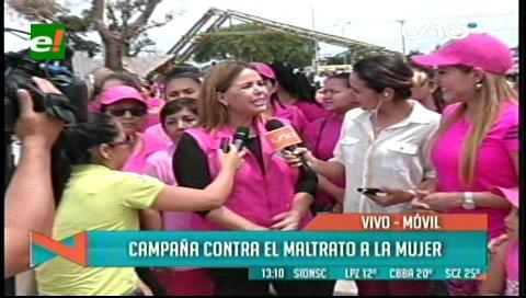 """Municipio cruceño apoya programa contra la violencia """"Yo soy mi primer amor"""""""