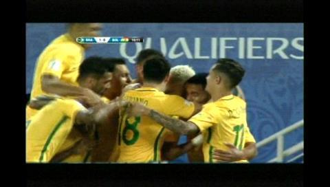 Brasil 1-0 Bolivia: Neymar marca el primero para la Canarinha