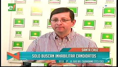 Senador Ortiz: El Gobierno busca inhabilitar a todos los posibles candidatos a las próximas elecciones