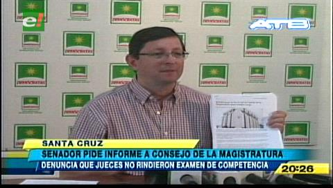 Senador Ortiz: Consejo de la Magistratura está designando vocales sin transparencia