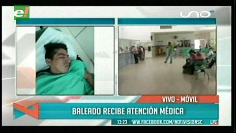 Joven es herido de bala en presunto atraco