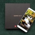 Huawei Mate 9 en su caja de embalaje