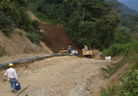 Técnicos de la estatal YPFB Transporte reparán el Gasoducto Carrasco-Cochabamba (GCC).