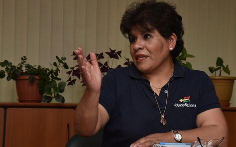 Marlene Ardaya, presidenta de la ANB