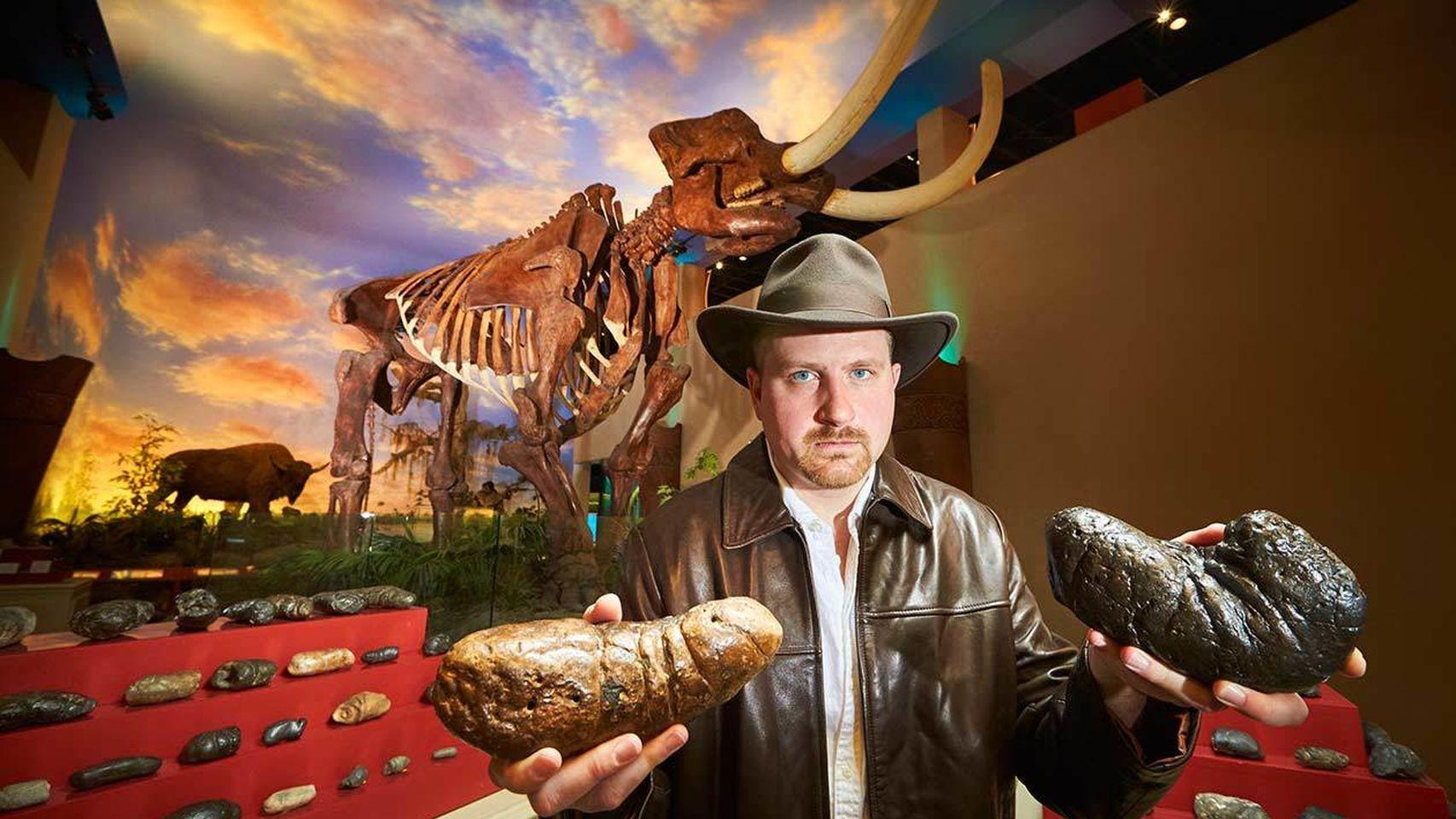 La mayor colección de heces fósiles.