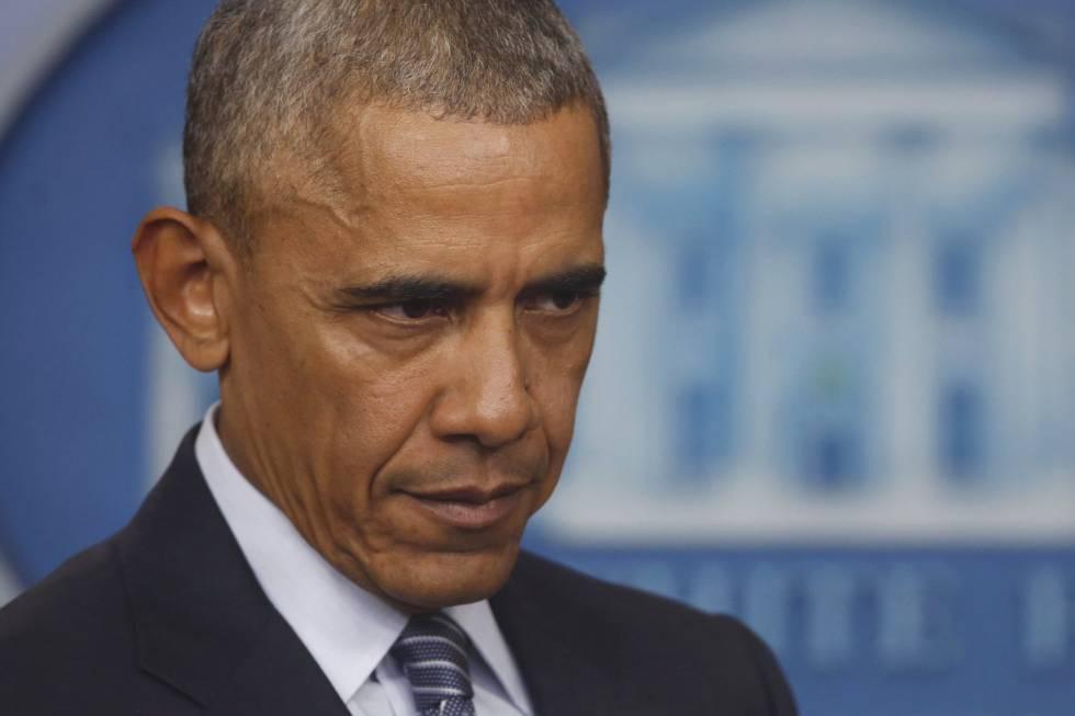 El presidente Barack Obama en su primera rueda de prensa tras las elecciones
