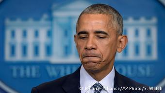 Primera conferencia de prensa de Barack Obama tras las eleccioens del 8 de noviembre de 2016 (Picture-Alliance/AP Photo/S. Walsh)