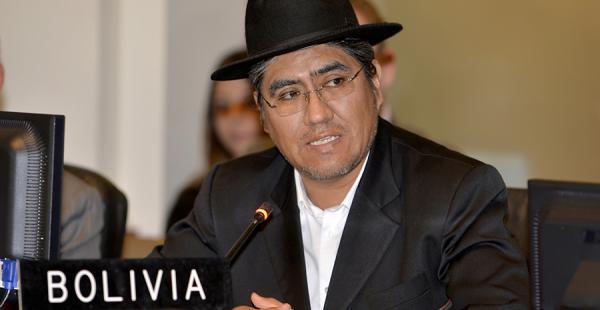 El embajador de Bolivia ante la Organización de Estados Americanos (OEA), Diego Pary