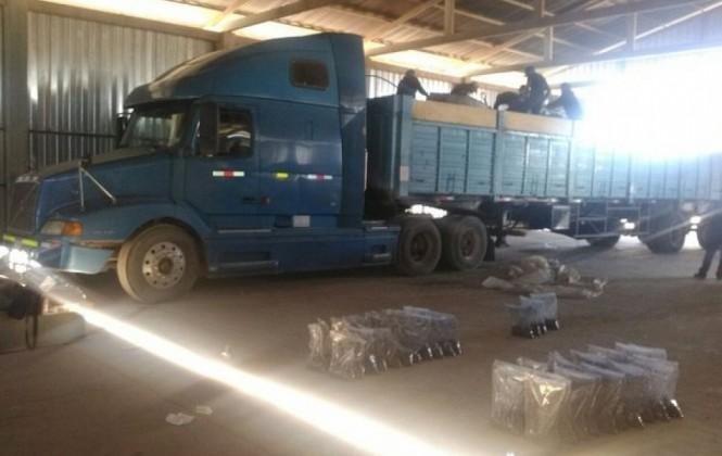 En Perú detienen 19 camiones bolivianos por narcotráfico que transportaban carga para Vinto