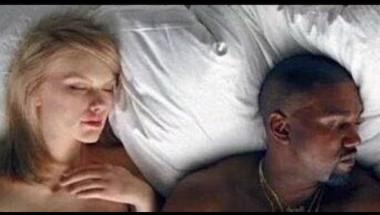 Una escena del nuevo video de Kanye West,