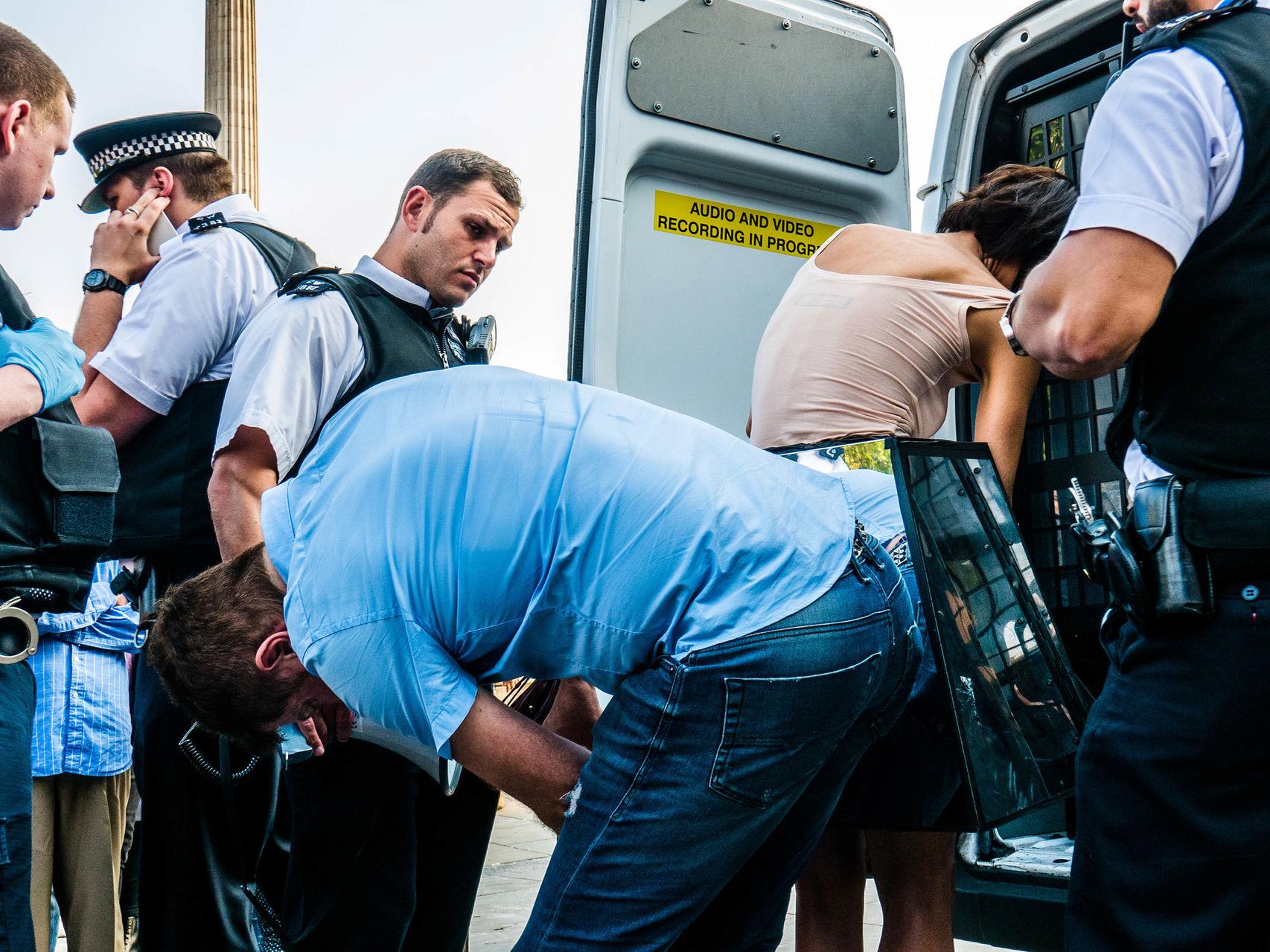 Durante la detención.