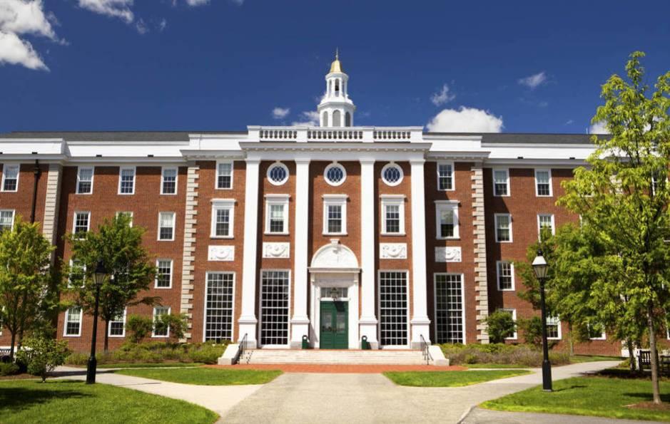 El edificio principal de la Universidad de Harvard. (iStock)