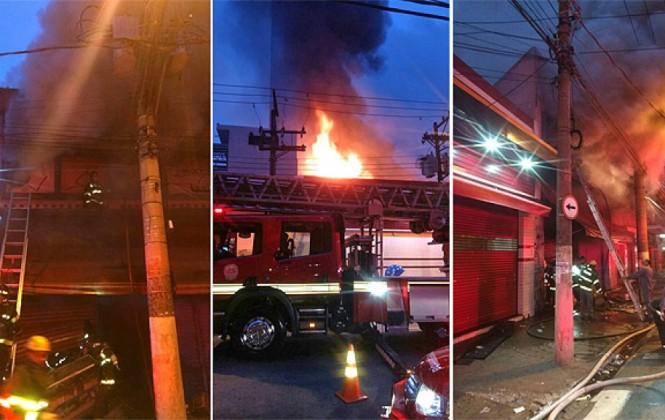 25 bolivianos pierden todo en un incendio en Sao Paulo, donde mueren 4 personas aún no identificadas