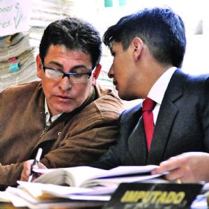 Encarcelan al mayor Valda por el caso Saravia el día de su ascenso