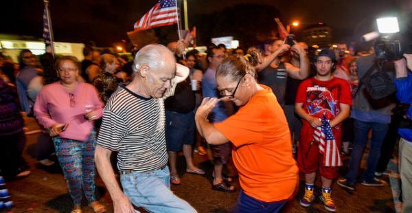 Festejo en Miami