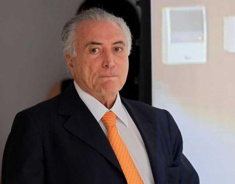 El presidente de Brasil , Michel Temer.