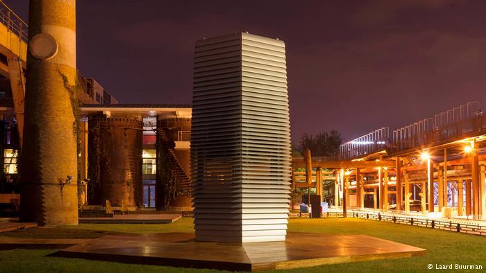China Peking Smog Free Project des holländischen Designers Daan Roosegaarde (Laard Buurman)