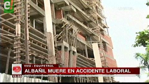Albañil muere en accidente laboral