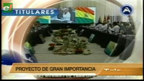 Corredor ferroviario bioceánico  pasará por Bolivia