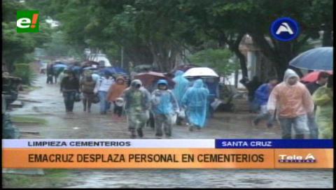 Limpieza en los cementerios: Emacruz recoge más de 5.000 toneladas de basura