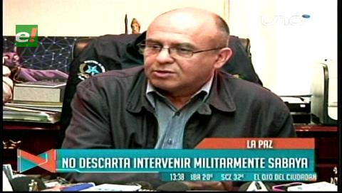 Contrabando: Ministro Ferreira analiza una intervención militar en Sabaya