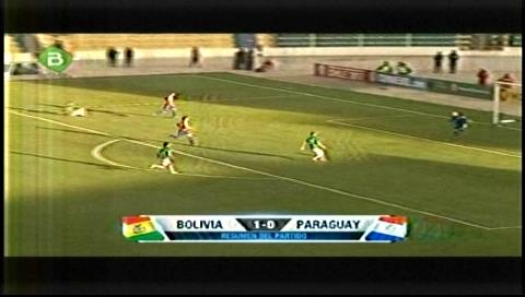 Martins marcó el gol de la victoria: Bolivia ganó a Paraguay por 1-0 en el Siles