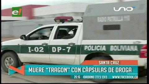 Santa Cruz: Ex reo muere por ingerir cápsulas de cocaína
