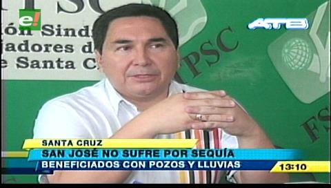 La perforación de pozos evitó problemas por la sequía en San José de Chiquitos