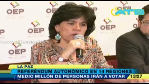 Medio millón de personas votarán en el referéndum autonómico