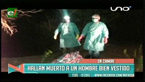 Camiri: Encuentran el cadáver de un hombre en una propiedad ganadera