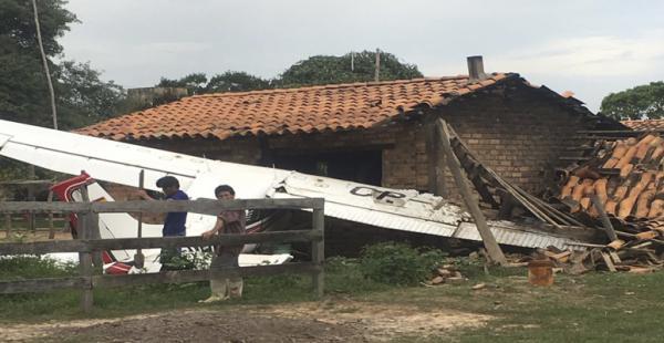 Avioneta cae en territorio ganadero en Beni