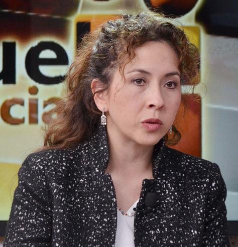Alexandra Moreira, ministra de medio ambiente y agua.