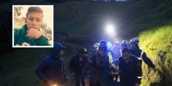 Encuentran al 'niño ángel' que ayudó en el rescate de los heridos de la tragedia