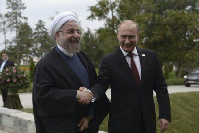 Putin and Rohani phone call